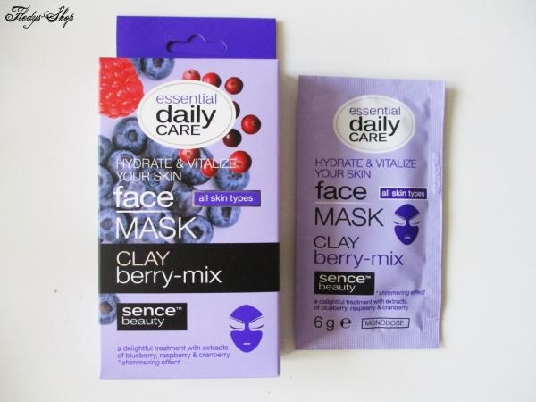 Sence Beauty Clay Berry-Mix Gesichtsmaske 5er Set