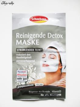 Schaebens Reinigende Detox Maske Strahlender Teint