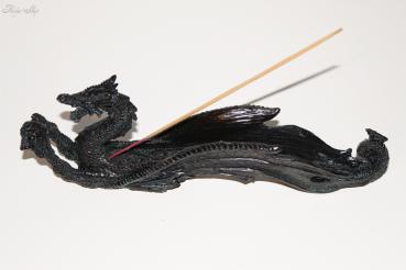 schwarzer Drachen Räucherstäbchenhalter