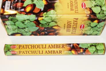 HEM Räucherstäbchen Patchouli Amber