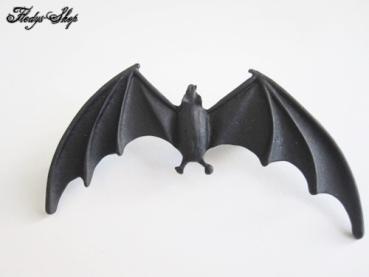 schwarzer Fledermausclip Ohrschmuck Clip