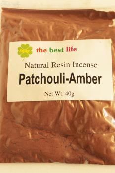 Räucherwerk Patchouli-Amber gemahlen