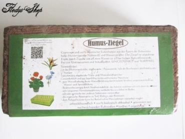 Bio Humusziegel Kokoserde Substrat