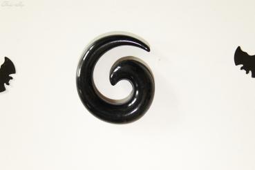 Dehner Schnecke schwarz Acryl