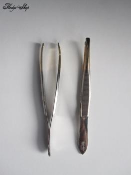 Pinzette Augenbrauen Maniküre schmal 7,8 cm