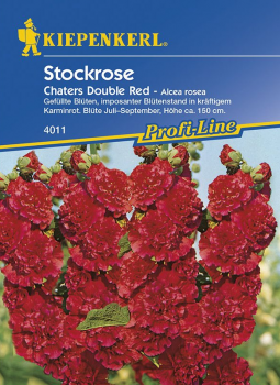 Stockrose Chaters Double Red