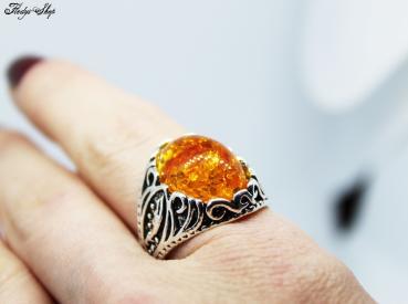 Böhmischer Ring - orange