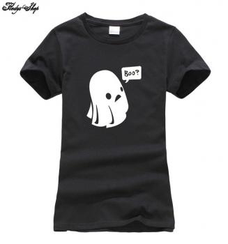 Damen T-Shirt Baumwolle Aufdruck