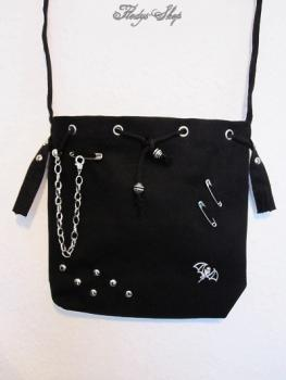 "Stofftasche ""Gothic Silver Fashion Bag"""