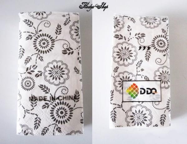 Fledys Shop Deko Papier Servietten Blumen Motiv